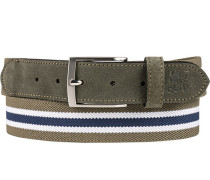 Gürtel khaki, Breite ca. 3,5 cm