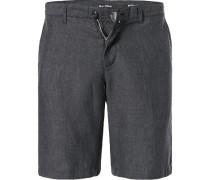 Hose Shorts, Regular Fit, Leinen