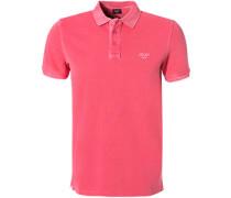 Polo-Shirt Polo, Baumwoll-Pique, pink