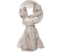 Schal, Baumwolle, gestreift