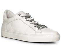 Schuhe Sneaker, Leder, bianco