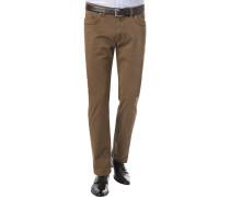Hose, Modern Fit, Baumwoll-Stretch