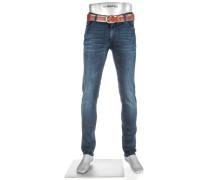 Jeans, Slim Fit, Baumwoll-Stretch T400
