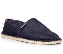 Schuhe Espadrilles, Denim, navy