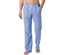 Pyjamahose Herren, Baumwolle