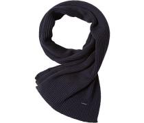 Schal, Wolle, nachtblau