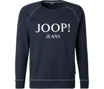 Sweatshirt, Baumwolle, dunkelblau