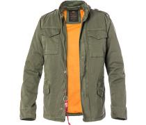 Fieldjacket Vintage, Baumwolle wattiert