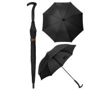 Herren Accessoires  Regenschirm Microfaser schwarz