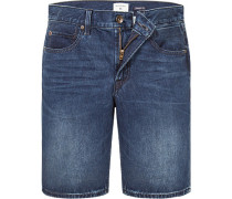 Jeansshorts, Straight Fit, Baumwolle