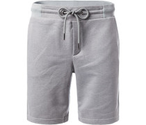 Hose Shorts, Baumwolle, meliert