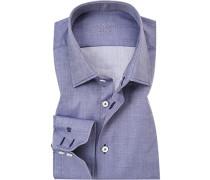 Hemd, Tailor Fit, Baumwolle, gemustert