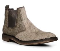 Schuhe Chelsea-Boots, Kalbleder-Fell