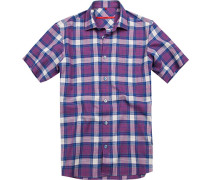 Kurzarm-Hemd, Classic Fit, Baumwolle