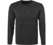 Pullover, Baumwolle, dunkelgrün