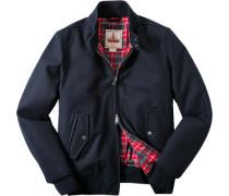 Jacke Blouson, Wolle COOLMAX®-, marine