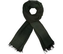 Schal, Wolle-Alpaka, -grün gestreift