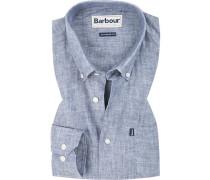 Hemd, Tailored Fit, Leinen