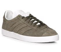 Schuhe Sneaker, Nubukleder, graphit