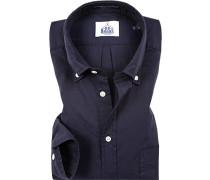 Hemd, Regular Fit, Oxford, navy