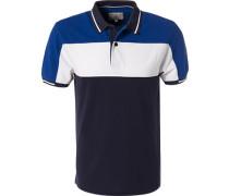 Polo-Shirt, Baumwoll-Piqué, gestreift