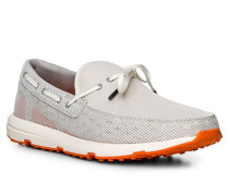 Schuhe Loafer, Kautschuk, hellgrau