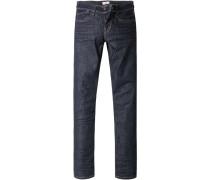 Blue-Jeans Hatch, Slim Fit, Baumwoll-Stretch