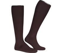 Socken Serie Luxury No.13, Kniestrümpfe, Piuma Baumwolle