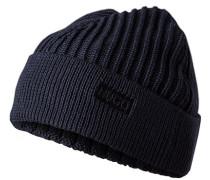 Mütze, Schurwolle, nachtblau