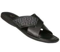 Schuhe Pantoletten, Leder