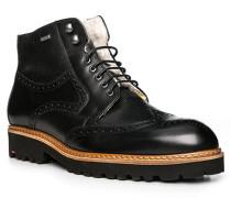 Schuhe Stiefeletten Varon, Kalbleder-Lammfell