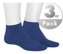 Socken Sneakersocken, Mikrofaser, navy