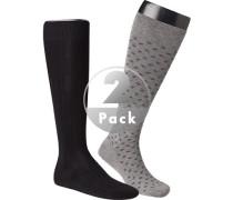 Socken Serie Milano, Kniestrümpfe, Baumwolle