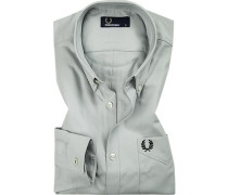 Hemd, Oxford, hellgrau
