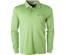 Polo-Shirt Polo, Baumwoll-Jersey, hellgrün
