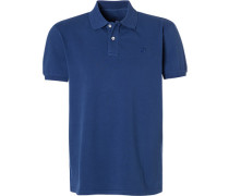 Polo-Shirt Polo, Baumwoll-Piqué. königsblau
