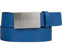 Gürtel azurblau, Breite ca. 3,5 cm