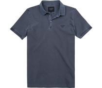 Polo-Shirt Polo, Baumwolle, mittelgrau