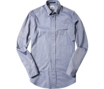 Hemd, Regular Fit, Baumwolle, denim