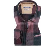 Hemd, Modern Fit, Flanell