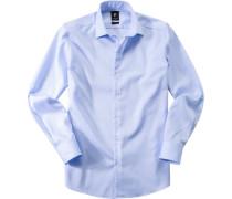 Hemd, Baumwolle, hellblau
