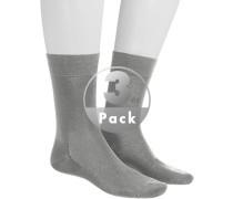 Socken Socken, Baumwolle, silber