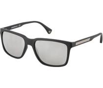 Brillen Sonnenbrille verspiegelt, Kunststoff