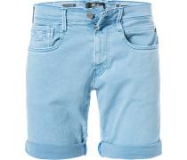 Jeansshorts Ambass, Slim Fit, Baumwoll-Stretch Hyperflex