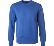 1fa043ab9bc5 Pullover, Kaschmir, kobaltblau. Cipriani