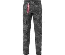 Hose Cargohose, Baumwolle, camouflage