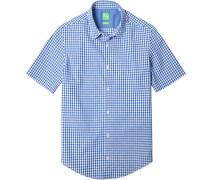 Kurzarm-Hemd, Regular Fit, Baumwolle