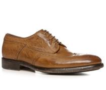 Schuhe Budapester, Büffelleder gebrusht