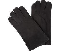 Handschuhe Herren, Veloursleder