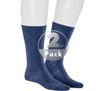 Socken Socken, Wolle, navy